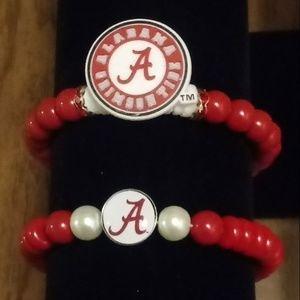 Alabama Crimson Tide Charm Bracelets